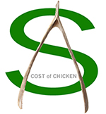 Cost of Chicken Logo