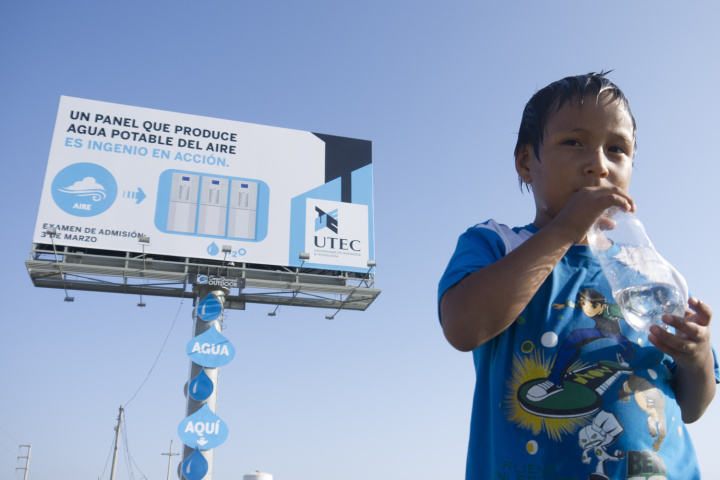 A Billboard That Creates Drinkable Water Out of Thin Air